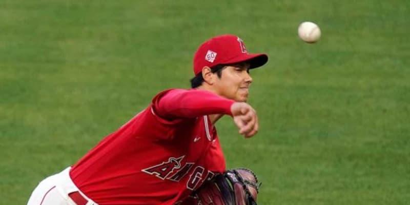 """【MLB】大谷翔平、ストライク率46%でも「打つのが困難だ」 7四死球7K""""怪投""""を米注目"""