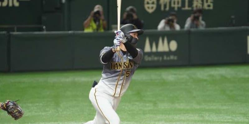 8連勝の猛虎打線が初回から爆発 近本の先頭打者弾&マルテの6号で2点先取、東京Dは騒然