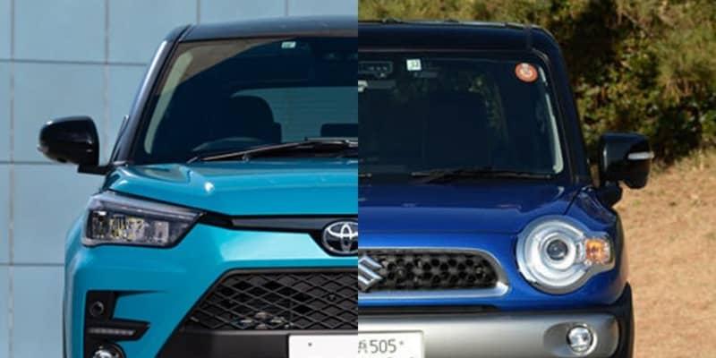 【予算200万円のSUV選び】トヨタ ライズとスズキ クロスビーをガチ比較! 燃費はほぼ互角ながら街乗りならクロスビー