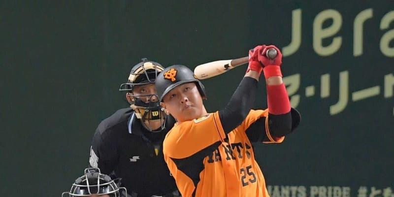 巨人・岡本和 2打席連発 4番お目覚め今季初猛打賞!阪神連勝止めた