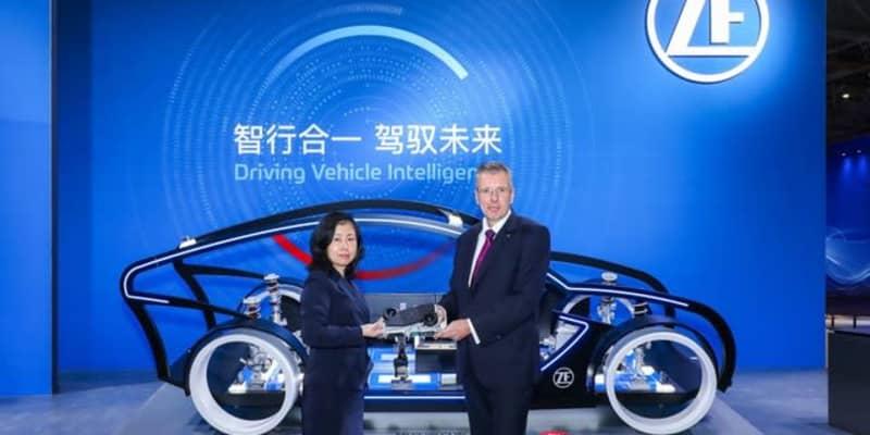 ZFの 次世代車載スーパーコンピューター、1秒に1000兆回の演算が可能…上海モーターショー2021
