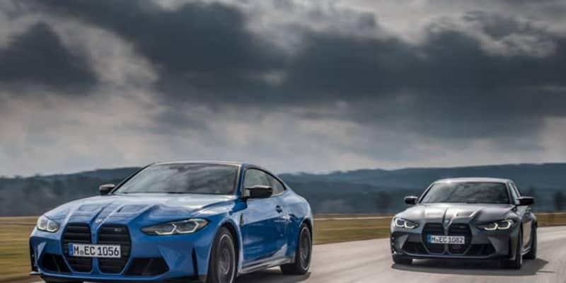 BMW M3と M4 新型に歴代初の4WD、0-100kmh加速は3.5秒に短縮 7月欧州発売