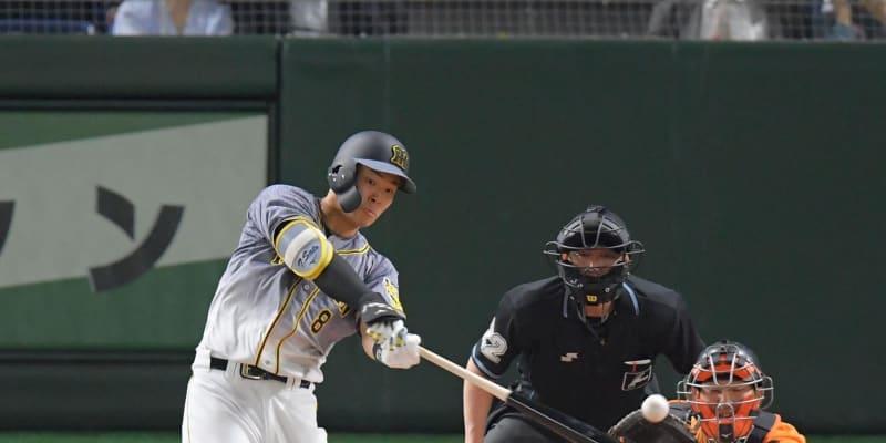 阪神・佐藤輝が反撃タイムリー「まだまだ分からない」5試合ぶり打点