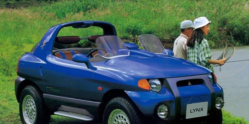 ジムニーの対抗馬として復活希望! 軽SUVのコンセプトカー 三菱 リンクス