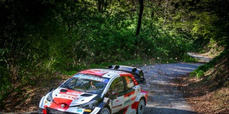 新エアロ投入のトヨタ勢がトップ6に4台。初開催WRCクロアチア、走り出しはエバンス首位