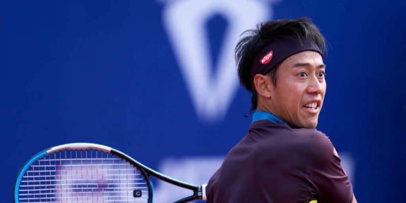 【速報】錦織 3ゲーム連取で第2セットを取り返す[ATP500 バルセロナ]