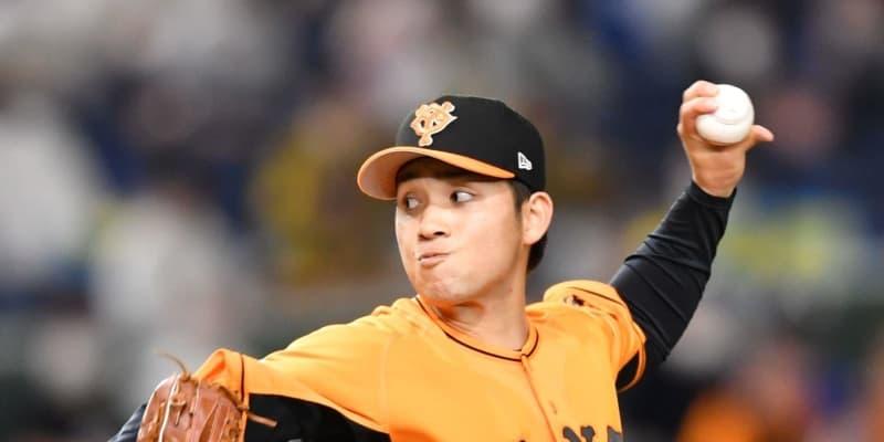 """巨人・高橋 """"虎キラー""""今季阪神戦2戦2勝 開幕4連勝!"""