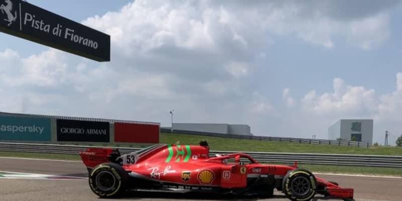 シューマッハーとアイロットが2018年型フェラーリF1でテスト