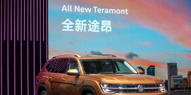 フォルクスワーゲンの大型SUVとSUVクーペに改良新型、上海モーターショー2021で発表