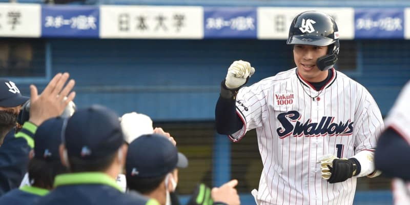 ヤクルト 山田哲人が4試合ぶり6号ソロ「何とかすぐ取り返してあげたかった」