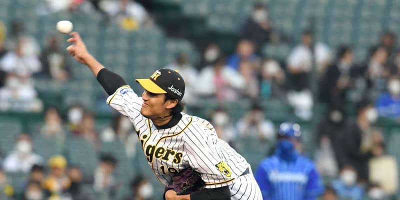 阪神先発・藤浪が2奪三振の三者凡退スタート 今季初めて初回からセットアップ投球
