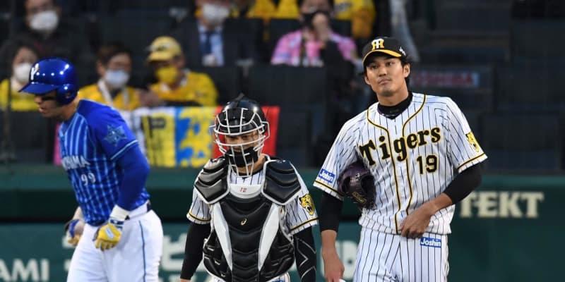 阪神先発・藤浪が二回に制球乱し先制許す 3者連続四球などで失点