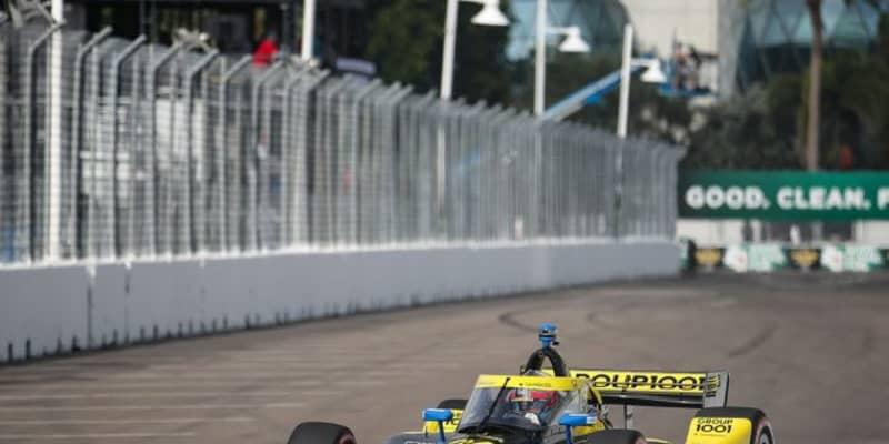 ハータが完勝。琢磨もオーバーテイクをみせ6位【順位結果】インディカー第2戦セント・ピーターズバーグ決勝レース