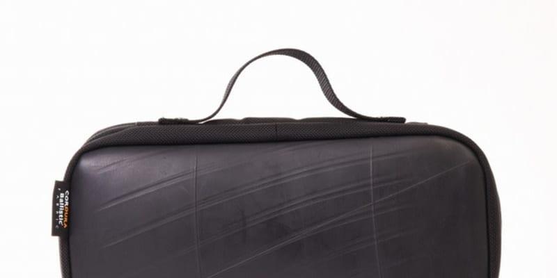 廃タイヤチューブを再利用、任天堂スイッチ専用ケース発売…耐久・耐水性