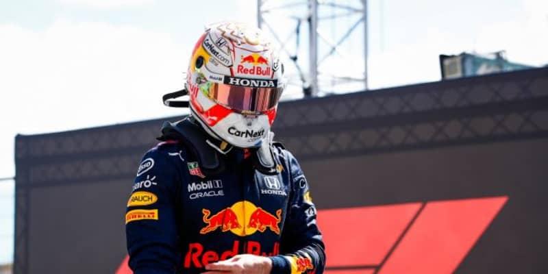 """最速タイム抹消のフェルスタッペン、""""楽しくない週末""""に不満も「まだ決勝に望みがある」レッドブル・ホンダ/F1第3戦予選"""