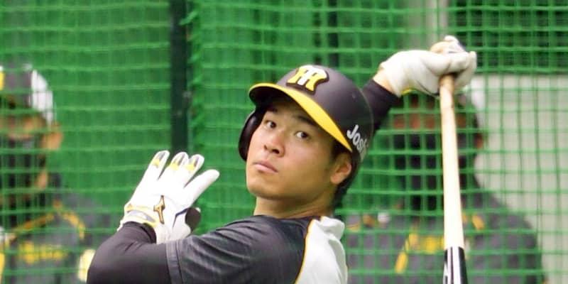 阪神 佐藤輝が球団新人史上初の「4番・三塁」 第107代4番打者 大山スタメン外
