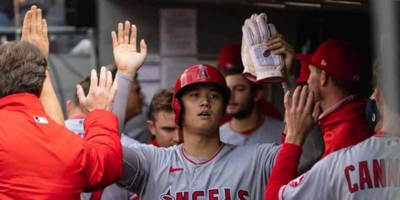 【MLB】大谷翔平、2試合ぶり無安打も1打点1盗塁 エ軍は4発10得点の大勝で5月白星スタート