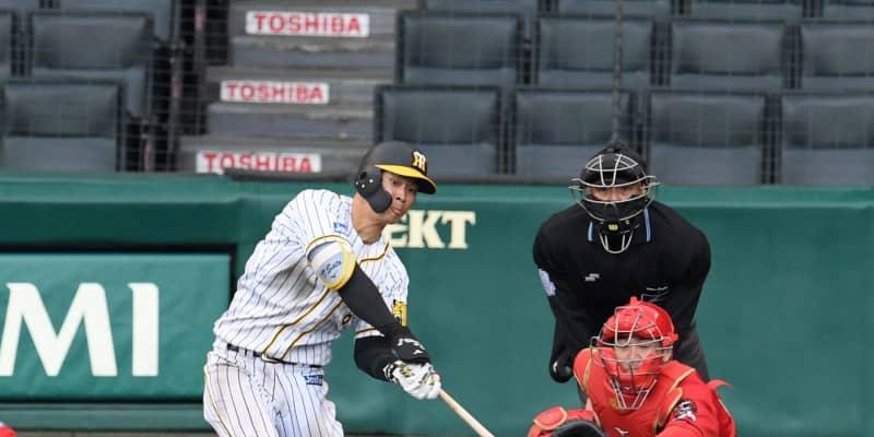 阪神・ドラ1佐藤輝 4番デビューでプロ初の満塁弾!「打つことができてよかった」