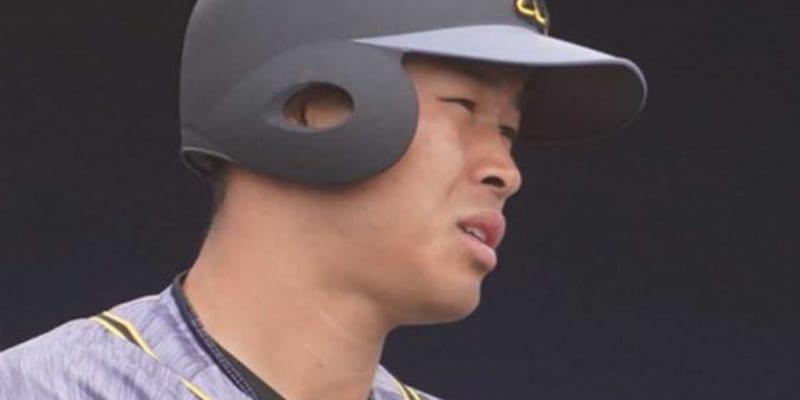阪神・佐藤輝、プロ初の4番起用で初の逆転満塁弾! 4試合ぶり8号は弾丸172キロ