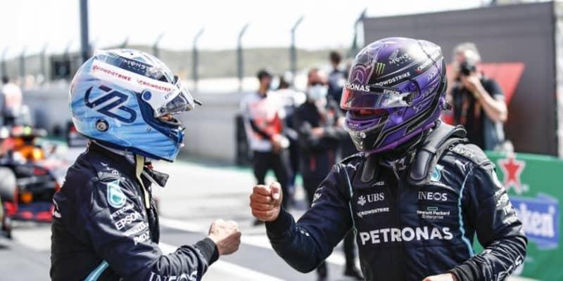 ハミルトン、0.007秒差で100回目のポール獲得ならず「予選中、1周しかいい走りができなかった」メルセデス/F1第3戦