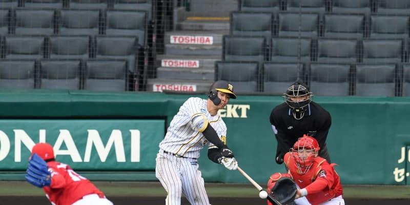 阪神・ドラ1佐藤輝の満塁弾に近本もびっくり「あんなに飛んでるんだと」