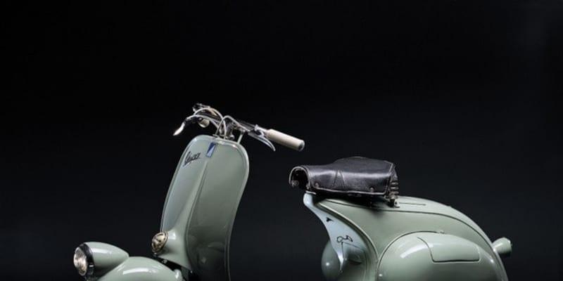 スクーターの「ベスパ」、創業75周年…生産台数は1900万台以上に