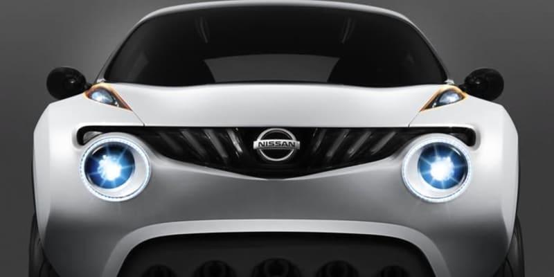 日産 初代ジュークの発売を前年に示唆していた! 2009年に発表されたコンセプトカー「ガザーナ」はジュークにソックリだった