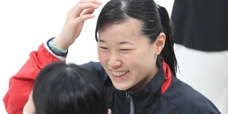 三上紗也可、大技「5154B」に光明 メダル届かずも五輪見据え「いい経験」