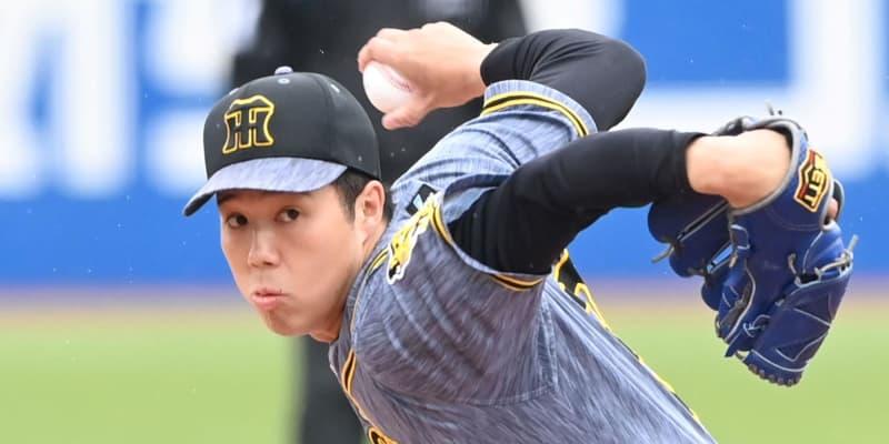 阪神・青柳が6回1失点の力投 3勝目の権利ゲット