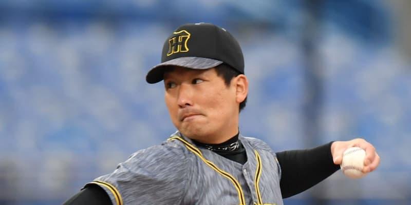 阪神 岩崎が登板10試合ぶり失点 八回に追いつかれる