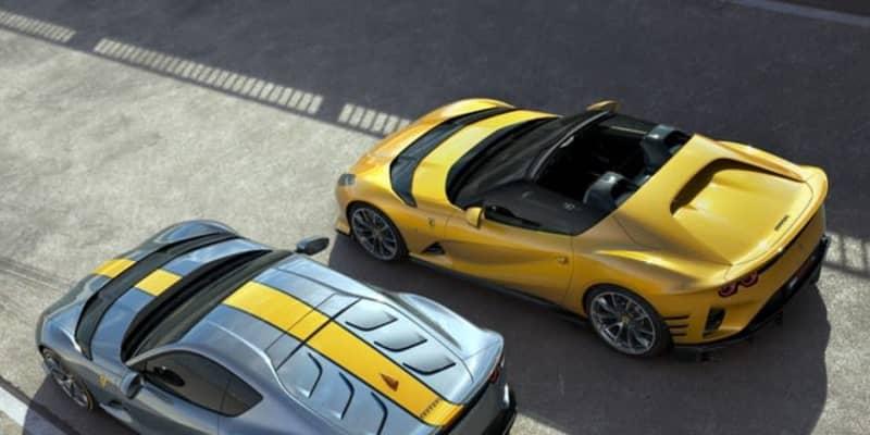 フェラーリ、『812 コンペティツィオーネ』発表…830馬力のクーペとオープンを限定生産