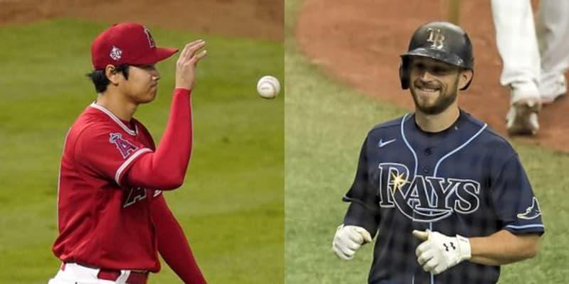 【MLB】大谷翔平を「打つのは非常に難しい」 2三振の1番打者が脱帽「優れた球持っている」