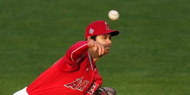 【MLB】161キロ剛速球の直後にカーブ 大谷翔平の球速差36キロ緩急に米驚愕「なんだこれは」