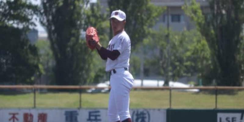 """【高校野球】常総学院の1年生右腕が""""優勝投手"""" 2枚看板と一緒に「甲子園に行きたい」"""