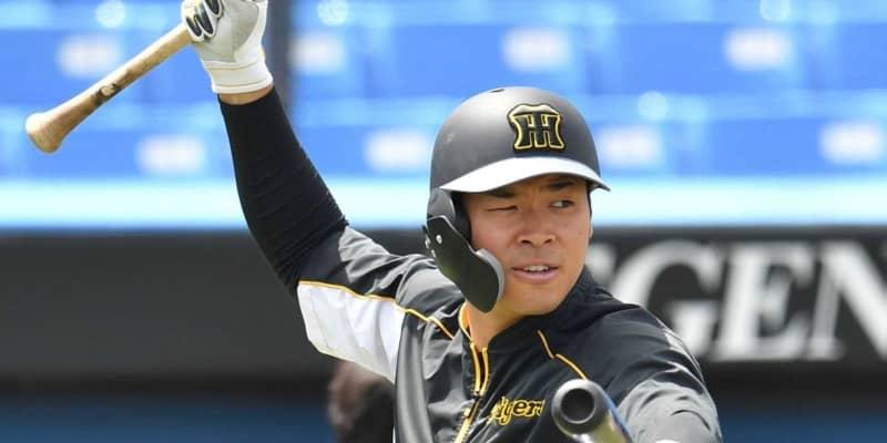 阪神ドラ1佐藤輝 再び「4番・三塁」 矢野監督迷いなく即答「テルで行く」