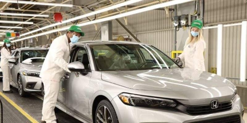 ホンダ シビック セダン 新型、生産開始…今夏北米発売へ