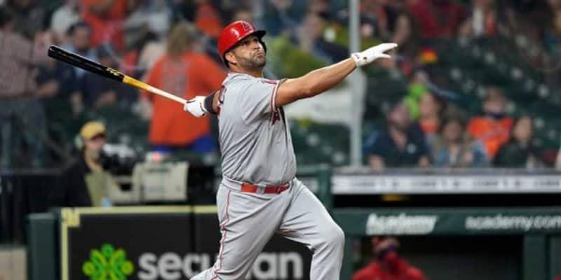 【MLB】エンゼルス、歴代5位667本塁打プホルスを戦力外 MVP3度、10年連続3割30本100打点