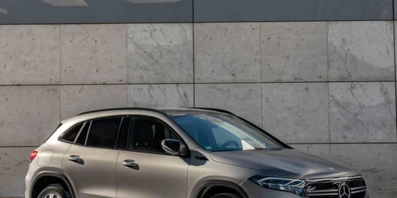 メルセデスベンツ EQA に新グレード、ツインモーターで292馬力…欧州発表
