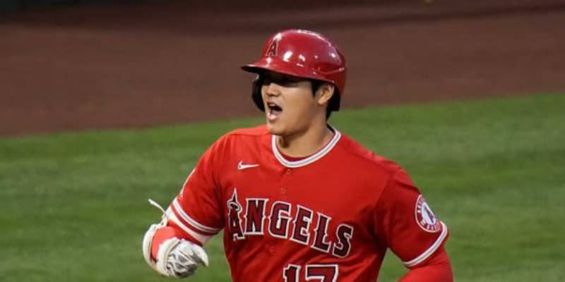 【MLB】大谷翔平、第4打席で一塁ベース直撃の二塁内野安打! 孤軍奮闘の今季9度目マルチ