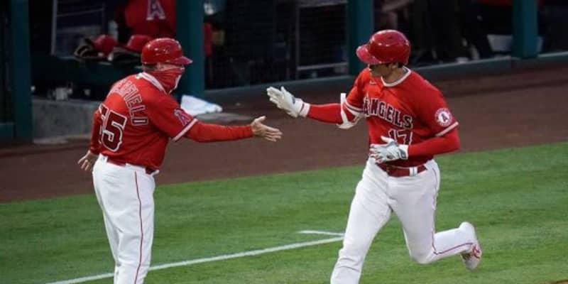【MLB】「どうやってアウトを取れば…」 大谷翔平、メジャートップタイ特大10号に米驚愕