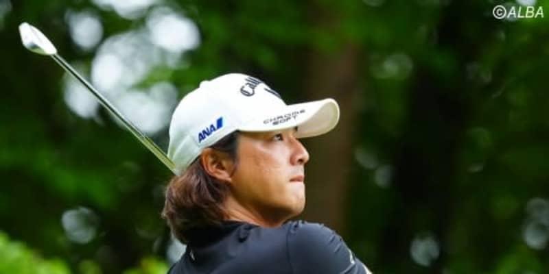<速報>石川遼が「66」でホールアウト 6つ伸ばして首位と4打差