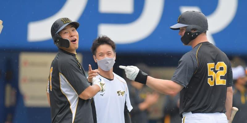 阪神、ドラ1佐藤輝が「4番・三塁」で先発 DeNAはプロ初勝利狙う中川が先発