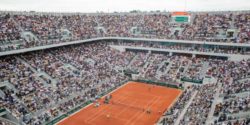 「全仏オープン」が観客数を発表、最大12,500人となる可能性も