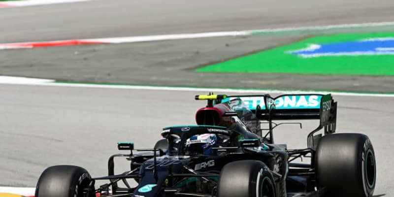 スペインGP FP1:ボッタスが首位。レッドブル・ホンダのフェルスタッペンが0.03秒差で2番手に