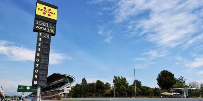 スペインGP FP2:初日はメルセデス勢が最速、好調アルピーヌが上位に。レッドブル・ホンダは9&10番手