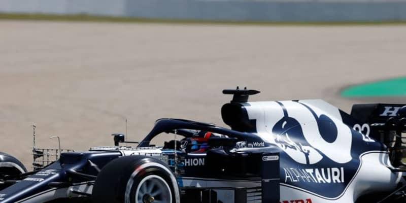 【角田裕毅F1第4戦密着】走行経験の多いバルセロナ初日は「全セッションが学びの前戦とは対照的」で前向きな1日に