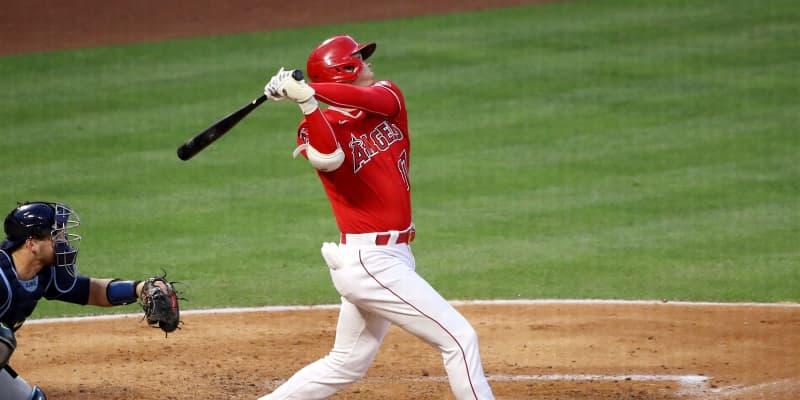 【MLB】大谷翔平 日本人メジャー最速10号!シーズン2度の登板翌日弾は史上初
