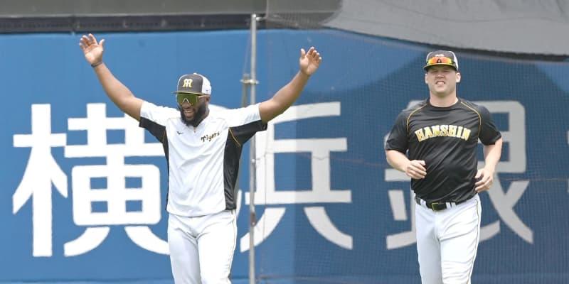 阪神・ロハスが初昇格 ソフトバンクは右手骨折で高橋純を抹消、長谷川が昇格