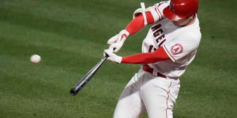 【MLB】大谷翔平、第3打席で左翼越え適時二塁打放ち2試合連続安打! 今季無敗の左腕から快音