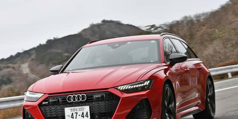 【アウディ RS6アバント 新型】超高速ワゴンの先駆者が遂げた進化[詳細画像]